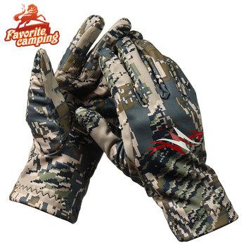 2017 nowi mężczyźni rękawice myśliwskie Sitex gruby polar zimowy s męski top szybkoschnące rękawice ogrodowe tanie i dobre opinie Pasuje prawda na wymiar weź swój normalny rozmiar