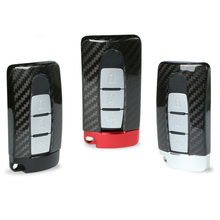 TTCR II Carbon Fiber Smart Remote Key Fob Case Bag Key Shell Holder Cover For NISSAN R35 GTR G TR 370Z 350Z