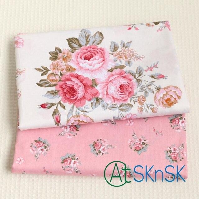 2 teile/los Hohe qualität DIY nähen phantasie rosa pfingstrose ...