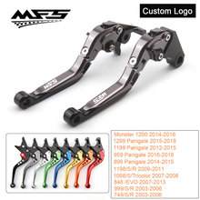 CNC Brake Clutch Levers Handle For Ducati 899 959 1199 1299 Panigale 1198 1098 848 1200 Monster M1100 999 749 V4 S4RS