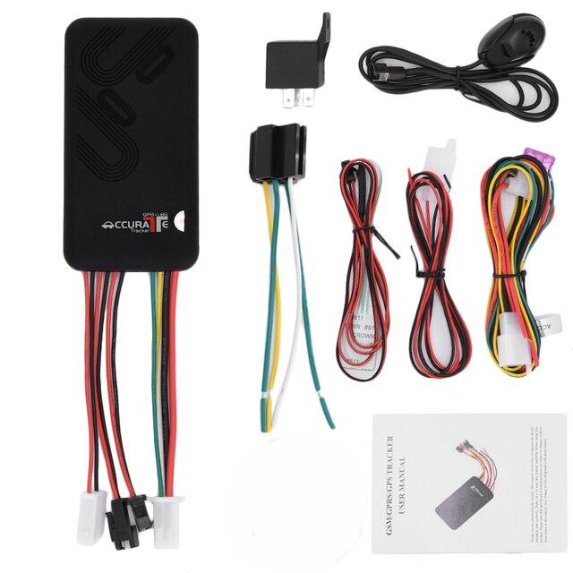 5 sztuk/partia uniwersalny GT06 samochód GPS Tracker pojazdu utwór urządzenie Monitor lokalizator pilot SOS Alarm mikrofon darmowa wysyłka