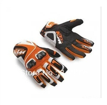 Free shipping new ktm racetech 12 motorcycle gloves motorbike motorcross atv offrod gloves free shipping worldwide M L XL