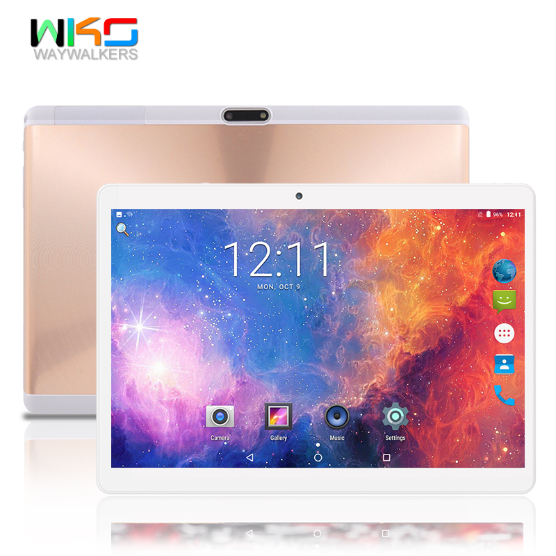 waywalkers 2019 Newest Android 7.0 Octa Core 10.1 inch Tablet PC 4GB RAM 32GB ROM 8MP WIFI 4G LTE Tablets Phone Call Dual SIM free shipping 10 inch tablet pc 3g phone call octa core 4gb ram 32gb rom dual sim android tablet gps 1280 800 ips tablets 10 1