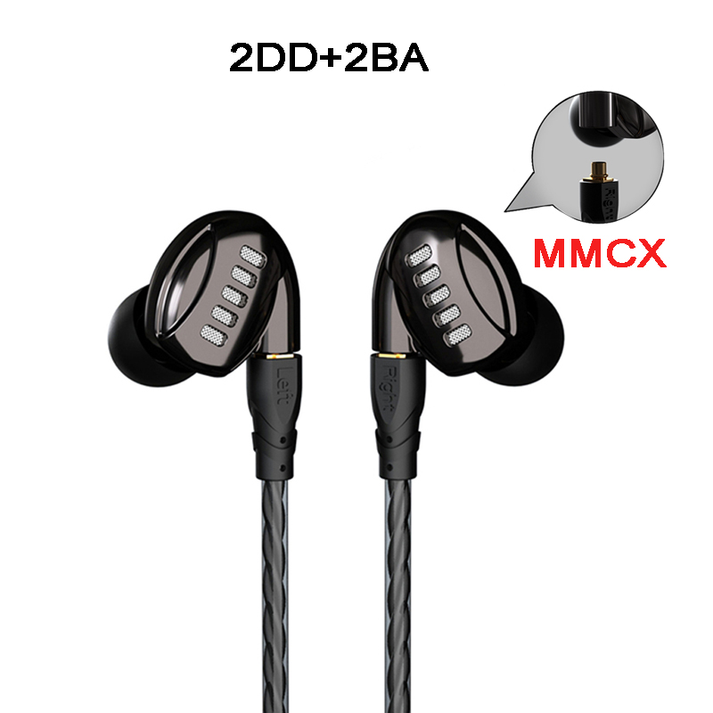 Newest  In-Ear MMCX  Earphone 8 Unit 2DD+2BA Subwoofer Stereo Headset Noise Cancelling Earbuds with 2 Cables for Shure se215 мультиварка steba steba dd 2 xl eco