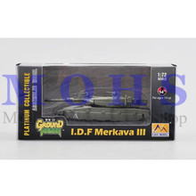 EASY MODEL 35093 1/72 Assembled Model Scale Finished Model Scale Miniature Military Scale Tank Scale Vehicle I.D.F Merkava III