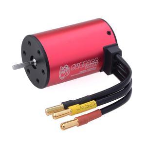 Image 4 - SURPASSHOBBY KK Waterproof Combo 3660 5.0mm 1750KV 2200KV 2600KV 3100KV 3500KV Brushless Motor w/Heat Sink 60A ESC for RC Car
