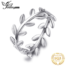 Jewelrypalace 925 Sterling Silver Rings Vitcory Laurels Jewelry For Women Wedding Band Friendship Ladies Gifts New Arrival недорого