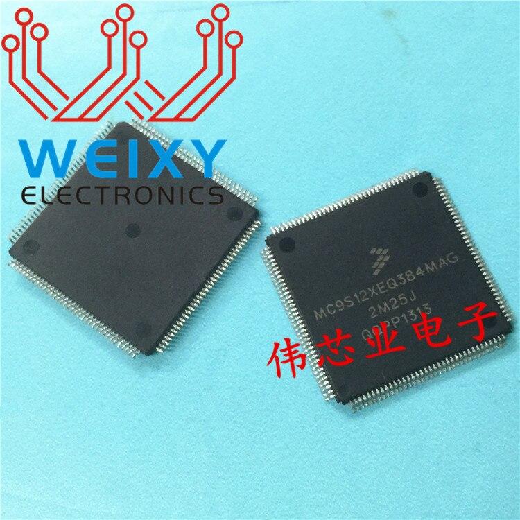 5PCS LOT MC9S12XEQ384MAG 3M25J MC9S12XEQ384 Car IC For BMNW 5 Series F18 Footstep Space Module Vulnerable