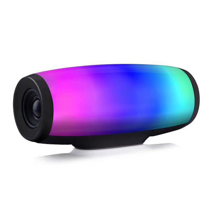 Haut-parleur Bluetooth intelligent Portable multi-fonction lumières de musique en plein air haut-parleurs Bluetooth haut-parleur stéréo à effet de basse
