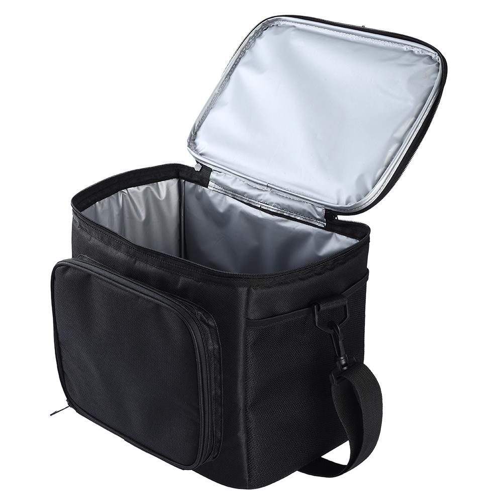 Large Capacity Eco-Friendly Lunch Bag Soft Insulated Cooler Tote Bag