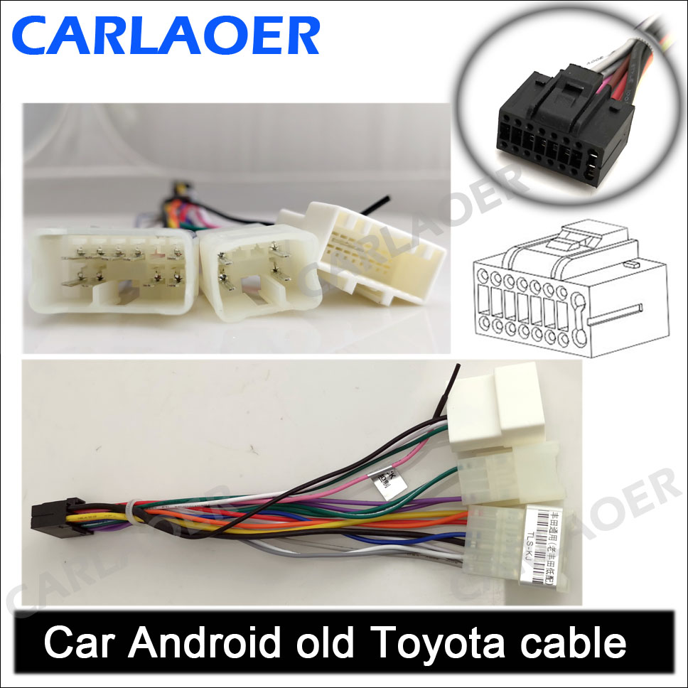 old Toyota connection cable