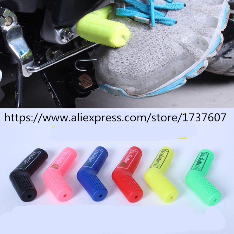 1Pcs Hot Gear Lever Set Notch Set Refires Protective Case Shift Lever Sleeve Modification Motorcycle stalls rubber sets