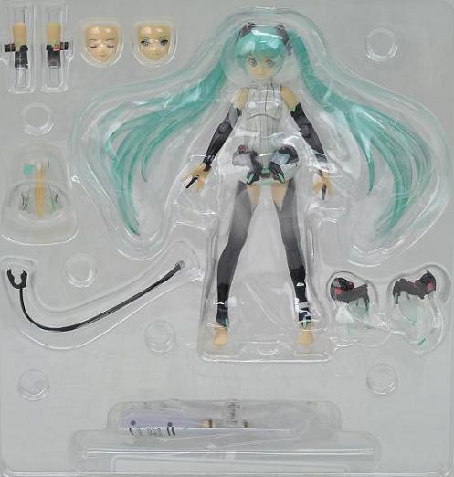 Vocaloid Hatsune Miku Figma 100 PVC Action Figure Collectible Toy Anime Game Hatsune Miku Toys Doll Gift