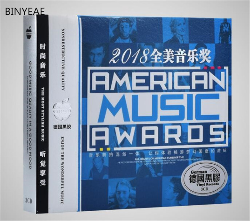 Free Shipping: American Music Awards Popular English Songs Music 3C Sealed