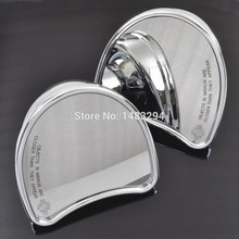Chrome Rearview Fairing Mount Mirrors Fits fits for 2014-Later Harley Touring FLHX FLHT