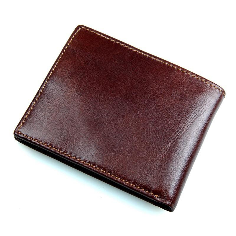 人気 Vallet USD ブロッキングクレジットカードホルダー財布ヴィンテージデザイナー本革男性の財布 3