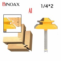Binoax 1 4 1 2 Shank 2 Bit Tongue And Groove Router Bit Set 4 Size