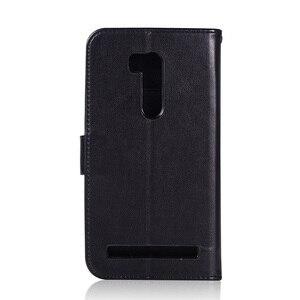 Чехол-бумажник для Asus ZenFone Go ZB551KL, кожаный флип-чехол StmartPhone, Чехлы Для ZenFone tv G550KL, чехлы из искусственной кожи