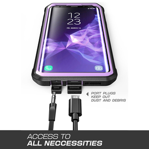 Image 5 - SUPCASE For Samsung Galaxy S9 Plus Unicorn Beetle UB Pro Shockproof Rugged Case Cover with Built in Screen Protector & Kickstand