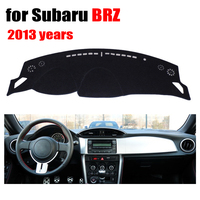 Car Dashboard Covers For Subaru BRZ 2013 Years Left Hand Drive Dashmat Pad Dash Cover Auto