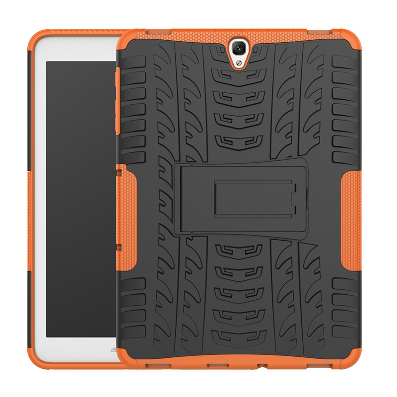 Heavy Duty Armor Case Cover For Samsung Galaxy Tab S3 9.7 T820 T825 Tablet TPU+PC Stand Protective Shell 9.7 Inch SM-T820/825