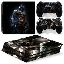 Новые предметы крутой дизайн виниловая консоль наклейка кожи для PS4 PRO