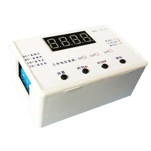 Módulo de relé de tempo 5v 6-8.4v 12v 24v ciclo de energia display digital tempo fora do tempo circuito interruptor de controle programável