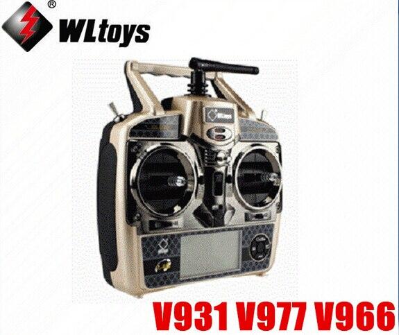 WLtoys V931/V977/V966/V950 Télécommande 6CH RC Hélicoptère V977 Émetteur Pièces De Rechange
