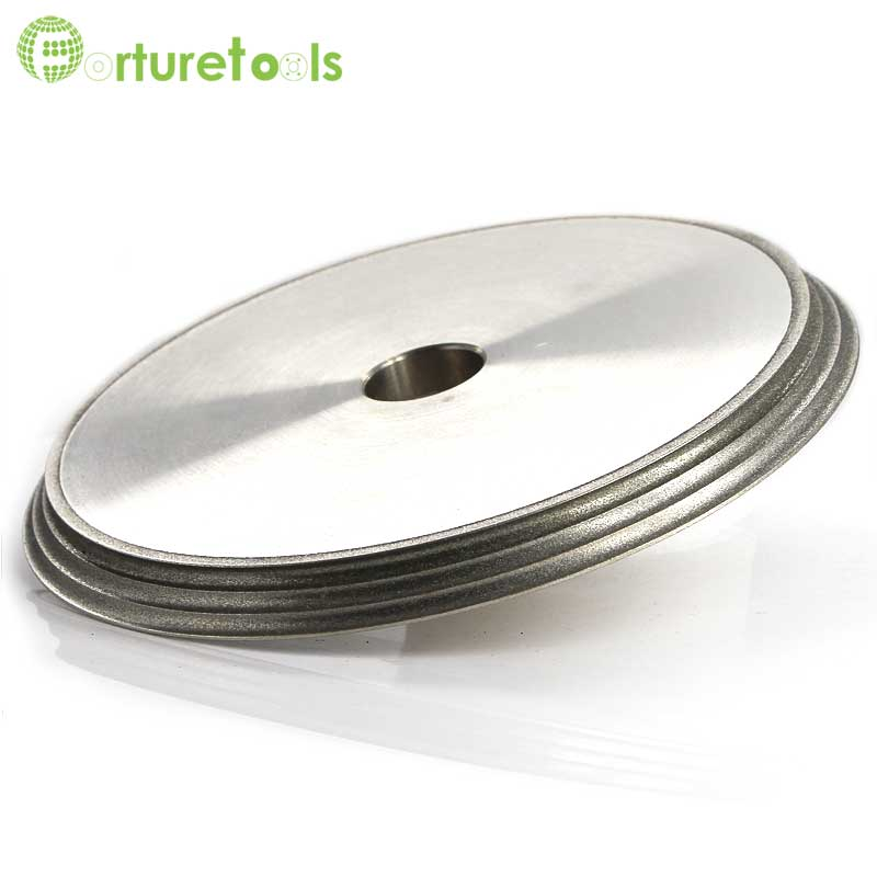 1piece 3OG grinding wheel form grinding wheel for glass edging,electroplated diamond abrasive wheel DZ 1 piece electroplated diamond coated abrasive grinding wheel of round n straight edge for 3 12mm glass shape edging machine tz74