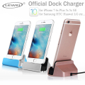Original Sync Data Charging Dock Station Cellphone Desktop Docking Charger USB Cable For iPhone 7 6 6s Plus 5 5S 5C SE