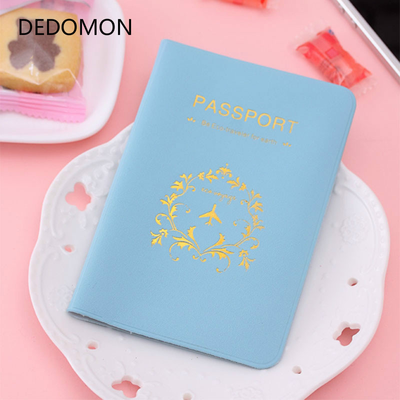 New Cover Travel Passport Cover Card Case Women Men Travel Credit Card Holder Travel ID&Document Passport Holder Wholesales cartoon sofia travel passport cover bag cute hello kitty credit card id holders men women card holder high quality