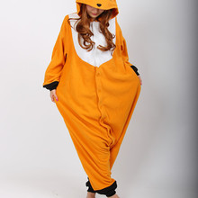 New Adult Animal Sleepsuit Pajamas Costume Cosplay Fox Onesie Fancy Dress Costume Hoodies Pyjamas Sleep wear