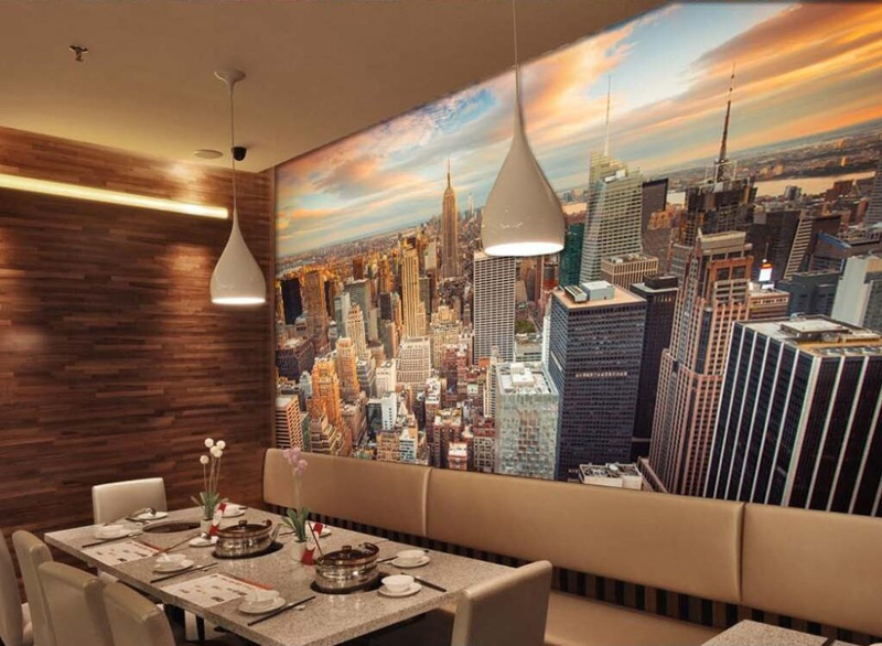 Aliexpress.com : Buy Manhattan 3D Wallpaper New York City Wall Mural Urban  Night Photo Wallpaper Bedroom TV Background Room Decor Bed Paper Parede  From ... Part 45