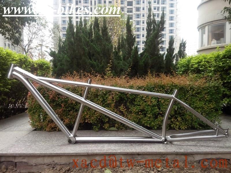 customized Ti Tandem MTB Bike Frame made in china