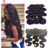 7A Brazilian Body Wave With Closure,13x4 Ear To Ear Lace Frontal Closure With Bundles,Brazilian Hair Weave Bundles With Closure
