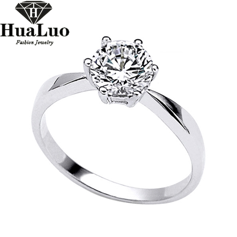 925 sterling silver wedding engagement rings fashion