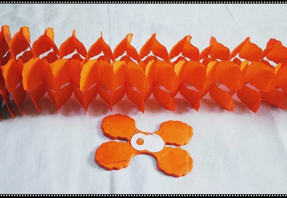 Besplatna dostava 3M Četiri Leaf Djetelina Papir Garlands Party - Za blagdane i zabave - Foto 5