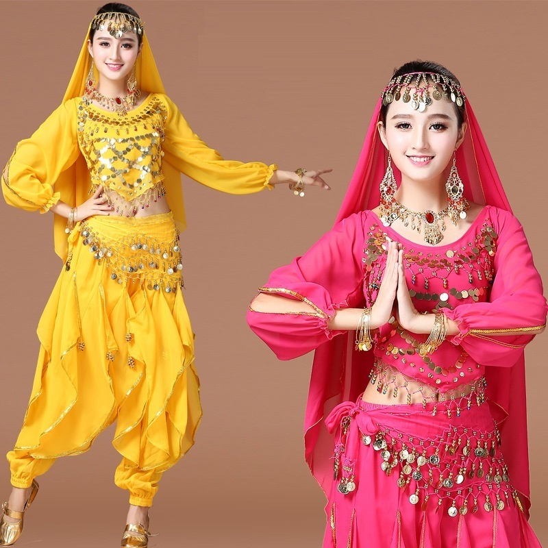 professional costume set egyptian belly dance dress clothes bellydance woman bollywood pants for women dresses costumes adult