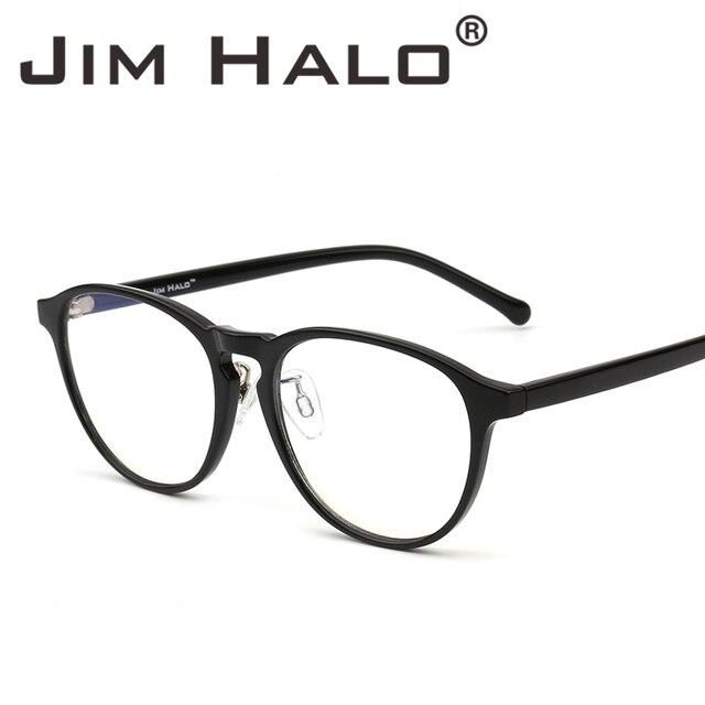 e0c6de2c4e3 Jim Halo Blue Light Blocking Round Reading Glasses