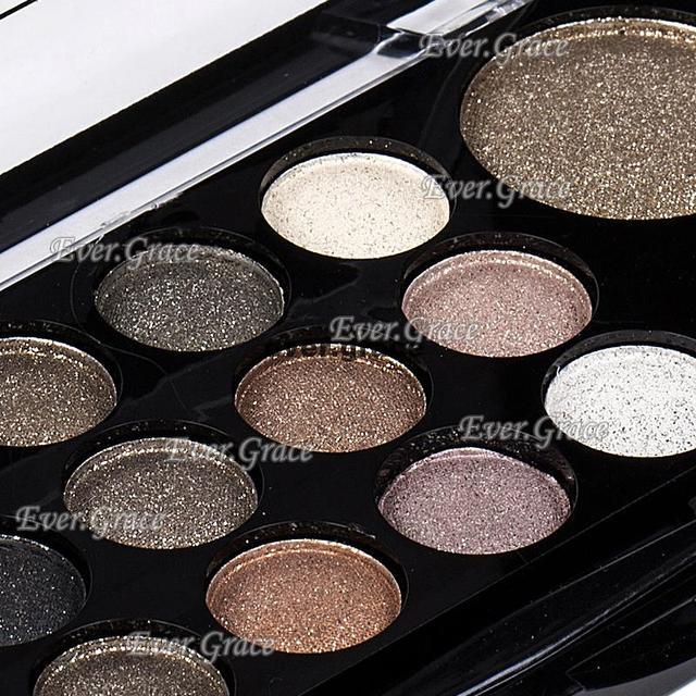 ICYCHEER Neutral Nude 14 Colors Makeup Eye Shadow Shimmer Warm Eyeshadow Palette Pigmented Smoky Silky Kit 2