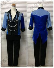 2017 New YURI!!! on ICE Katsuki Yuri Cosplay Costume Dark Blue Uniform Outfit Adult Carnaval/Halloween Costumes for Women/Men