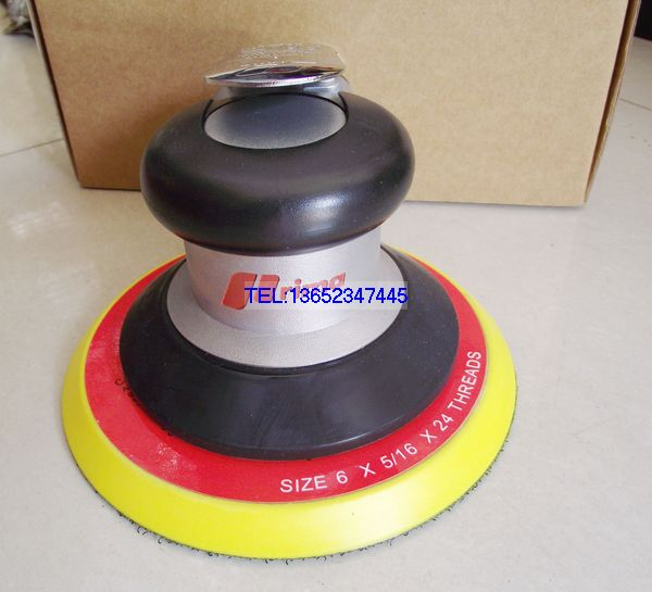 цена на Pneumatic Sanders TAIWAN PRIMA Air Tools Palm Orbital Sander Polisher 6 Inch Circle Round Pad OSN-60HE VE 150mm