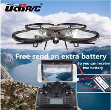 Una batería adicional gratis U919A GRAN Helicóptero De Control Remoto rc drone UDI U818A Quadcopter 6-Axis Gyro Wifi FPV versión Actualizada