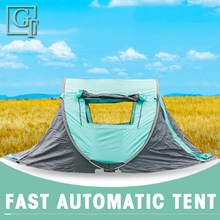 GT Large space wide 2-3-4persons pop up Spring camping tent outdoor tent automatic quick open beach tent for Camping Party TF-14 bswolf 3 4persons double deck camping tent outdoor self driving camping hydraulic speed automatic tent 2use and 3use tent