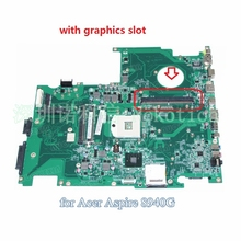 laptop motherboard for Acer Aspire 8940 8940G DA0ZY9MB6D0 MBPJJ06001 PM55 DDR3 With graphics slot