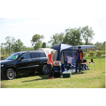 kingcamp camping zelt 5 person suv auto zelt f r outdoor. Black Bedroom Furniture Sets. Home Design Ideas