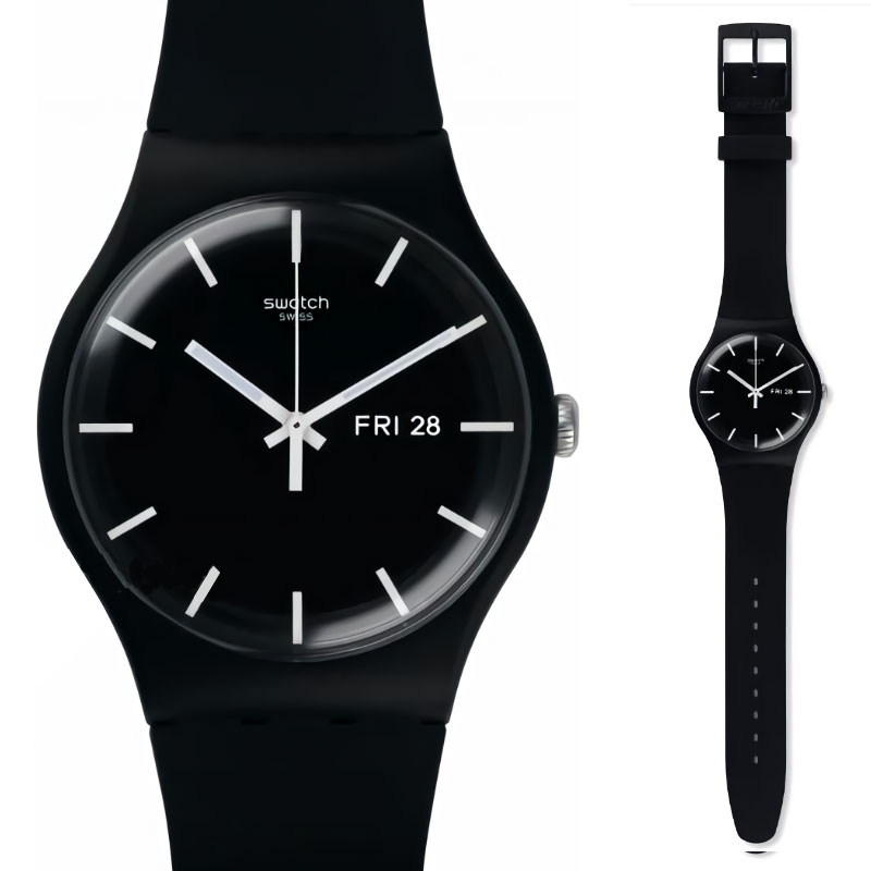 Swatch original quartz watch fashion and leisure waterproof women s watch SUOB720