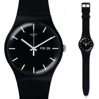 Swatch original quartz watch fashion and leisure waterproof women's watch SUOB720