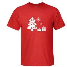 2017 100% Cotton T Shirt Men Women Christmas Tree 3d print Christmas Gift Short Sleeve T-shirts Fashion Casual Cheap Tops Tees