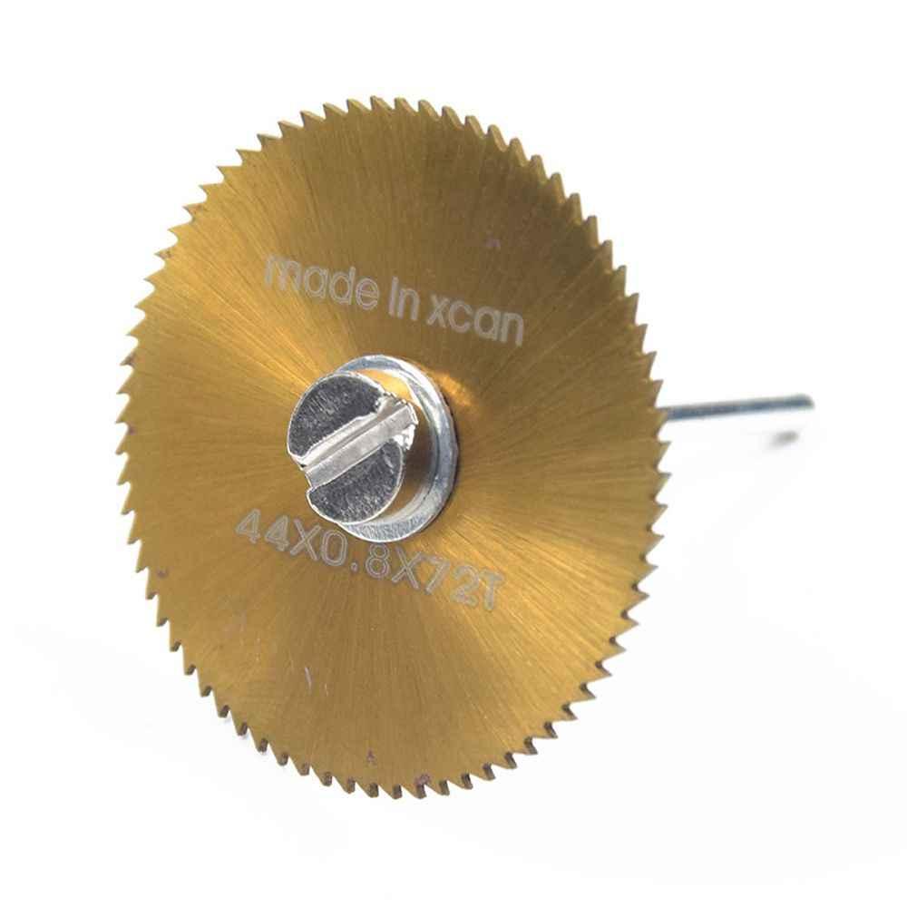 DAYFULI Power Fast 1PC 22/25/32/35/44/50 มม.ไม้ HSS SAW ใบมีดหรือ 1PC 3.17 มม.HSS EXTENSION Rod ตัดเครื่องมือ